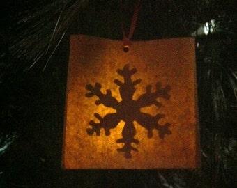 Unbreakable Tea-light Christmas tree ornaments