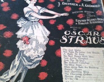 The Last Waltz sheet music - 1920