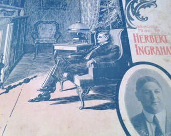 When I Dream in the Gloaming of You - sheet music 1909