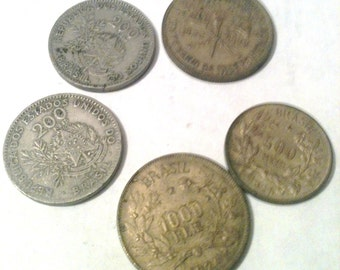 Vintage coins - Brazil