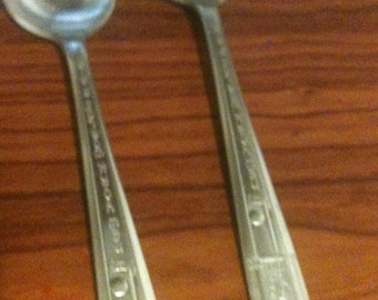 1939 World's Fair Silver Spoons