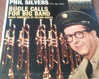 Phil Silvers Swings Bugle Calls for Big Band