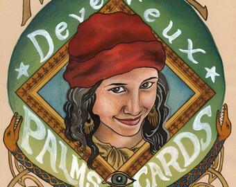 Madame Devereux - giclee print