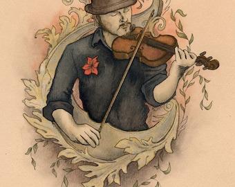 Sorrow's Song - giclee print