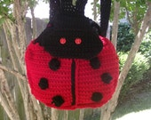 Lady Bug Backpack Purses