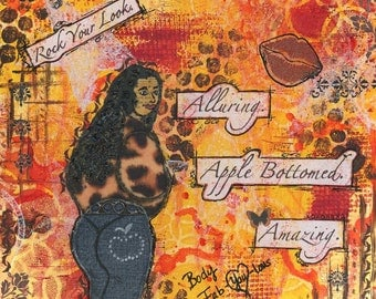 Alluring Apple Bottomed Amazing (A Body Fab-YOU-lous Print)