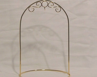 Arched Ornament Stand - Silver