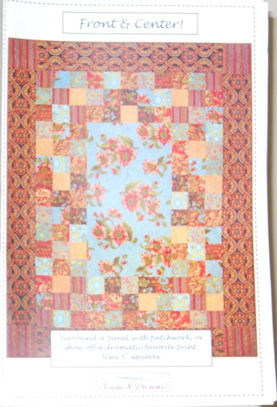 Quilting Patterns Instructions : Quilt Pattern Instructions from Seams & Dreams Front
