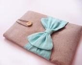 Macbook Air  case11/13 '', Bow Aqua color