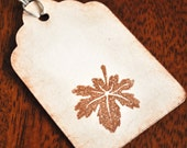Fall Wedding Favor Tags For Bags Leaves