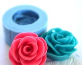 Small Rose Flower 15mm  Bakery Flexible Push Mold 248s* BEST QUALITY
