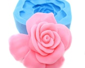 Rose Flower Caobchon 40mm Bakery Silicone Flexile Mold Push Mould 304L BEST QUALITY