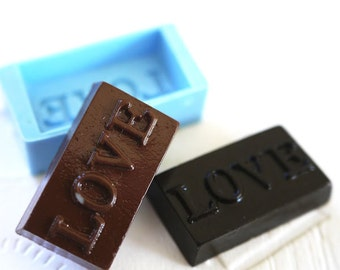 Chocolate Love 24mm Bakery Flexible Push Mold 269m BEST QUALITY