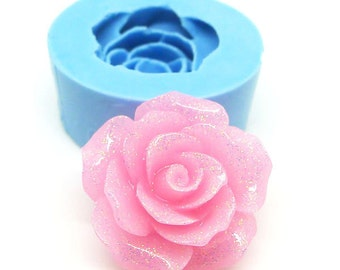 Rose Flower Cabochon 20mm Bakery Flexible Mold 399m* BEST QUALITY
