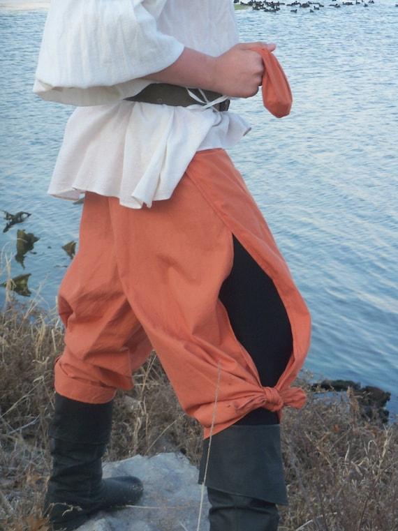 WRAP PANTS Cotton blend Renaissance /Pirate / Gypsy / LARP