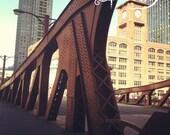 8x8 inch Photo Print La Salle Bridge