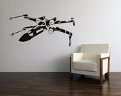 Star Wars X Wing Fighter Vinyl Wall Decal