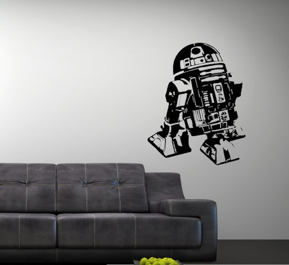 Vinyl Wall Art Decal Star Wars R2D2