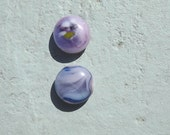 fused glass strong magnets set of two