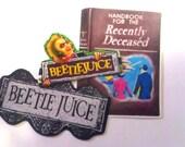 Beetlejuice Sticker Set