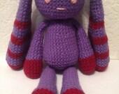 Crochet Plush Bunny