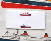 French Ocean Liner cards