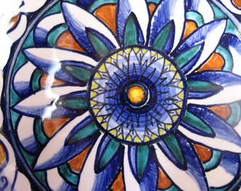 Tile 15x15 cm/5,9x5,9inch Renaissance Floral design