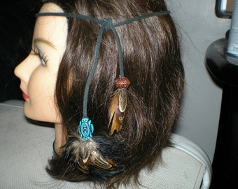 HIPPIE STYLE FEATHER Headband