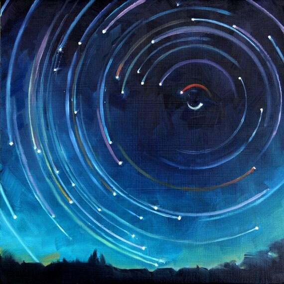 OIl Painting of Polaris