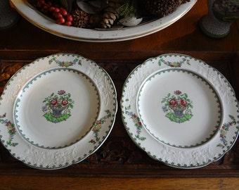 Beautiful Spode Copeland set of 2 plates...SALE NOW 15.00...