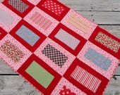 Shades of Pink Baby Quilt