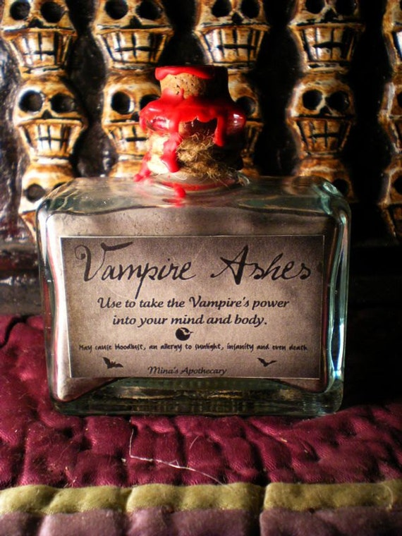 Vampire Ashes - Use to take the Vampire's power into your mind and body