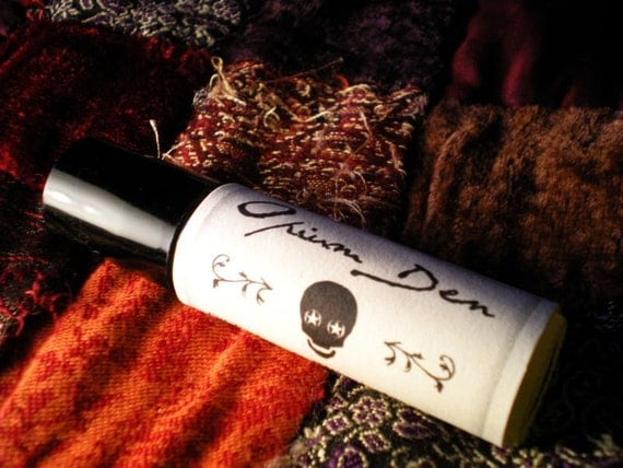 Opium Den - Masculine Roll On Oil Perfume - Opium, Tobacco, Clove and Dirt
