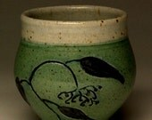 Cup with Plant Decoration