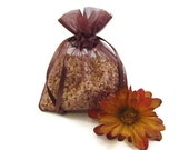 Chocolate Cappuccino Corn Cob Cellulose Fiber Aroma Sachet