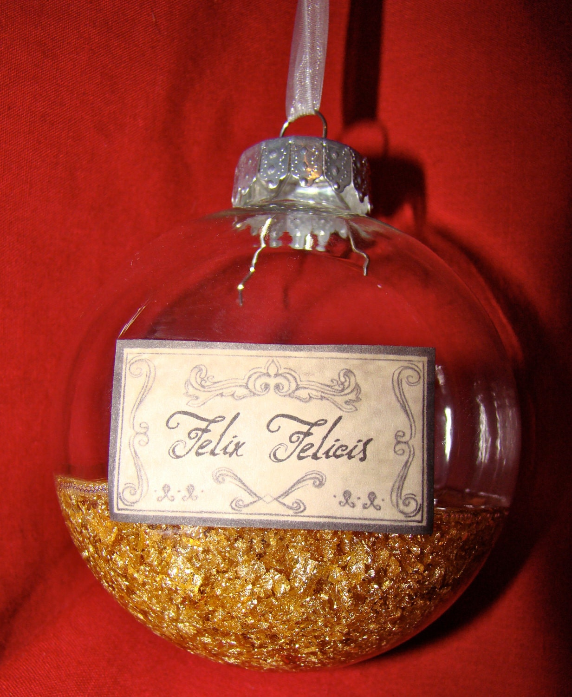Harry Potter POTION Ornaments LARGE Round: Felix Felicis