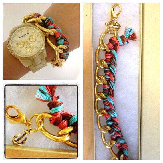 Woven Chain Bracelet. Buy a bracelet, help a family.