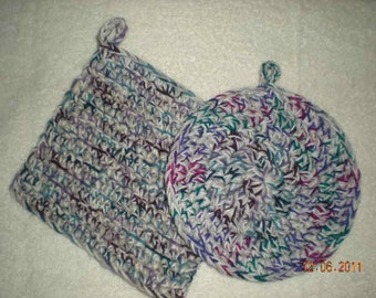 Free Crochet Patterns Hotpads Potholders : CROCHET HOTPADS POT HOLDERS ? Only New Crochet Patterns
