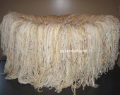 Fringe Blanket Photo Prop In Cream Colors READY To SHIP