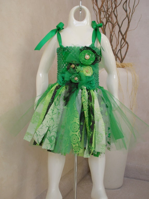 St. Patrick's Day Shabby Chic Dress