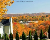 PH-NY348 - A Autumn view from Highview Avenue