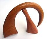 Wooden hair accessory, Hair sticks, Hair fork, Wood, Teak, Hairpin, Handmade