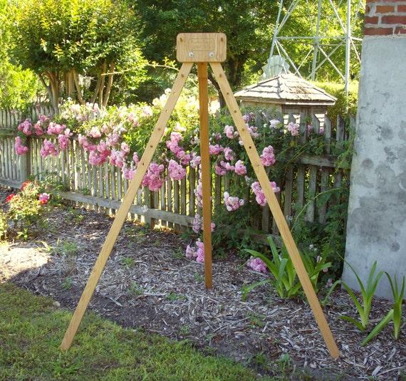 Oak tripod for tri loom or rectangle loom