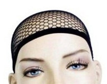 Cool and Comfortable Black Mesh Wig Cap