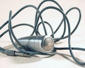 RESERVED/////Mod Vintage Bullet Silvertone Microphone////RESERVED