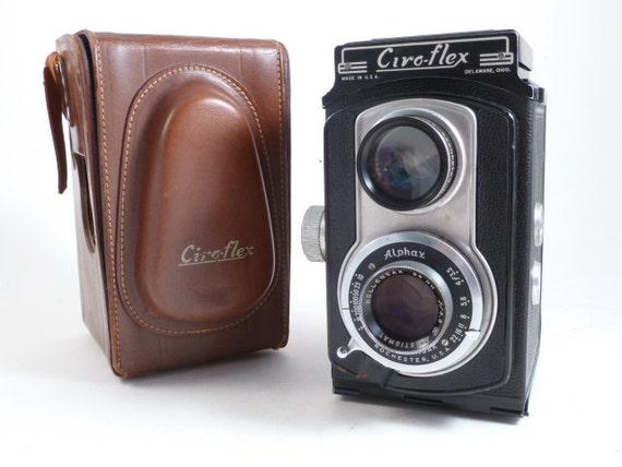 WORKING 40's//50's Ciroflex 120 TLR Medium Format Camera w/Case
