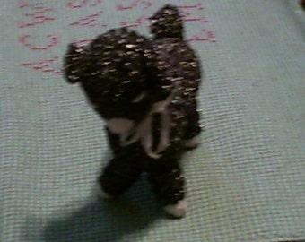 Black Crocheted Lamb