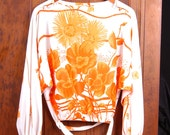 "Vintage ""Miss Jane of Miami"" Dolman Sleeve Top"