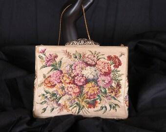 Vintage Jolles Original, Petitpoint Handbag