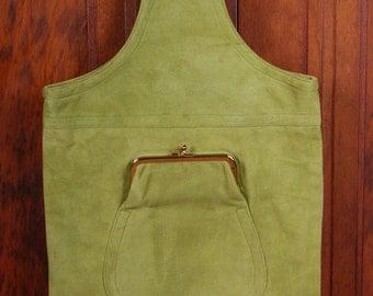 Vintage Bonnie Cashin Lime Green Cashin Carry